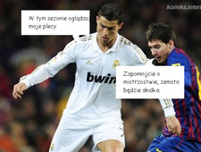 Ostre spięcie Ronaldo z Messim!