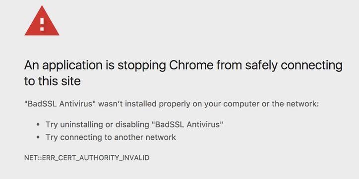 Ostrzeżenie, jakie zobaczymy w przypadku, kiedy Chrome 63 uzna, że nasza przeglądarka jest atakowana /materiały prasowe