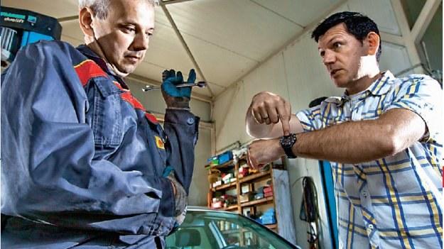 Oszustwa mechaników /Motor