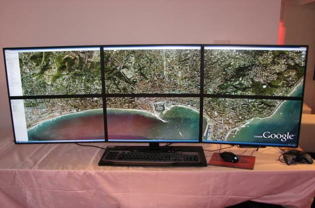 Oto, co może powstać z połączenia AMD Vision i 6 monitorów. W sam raz do salonu /INTERIA.PL