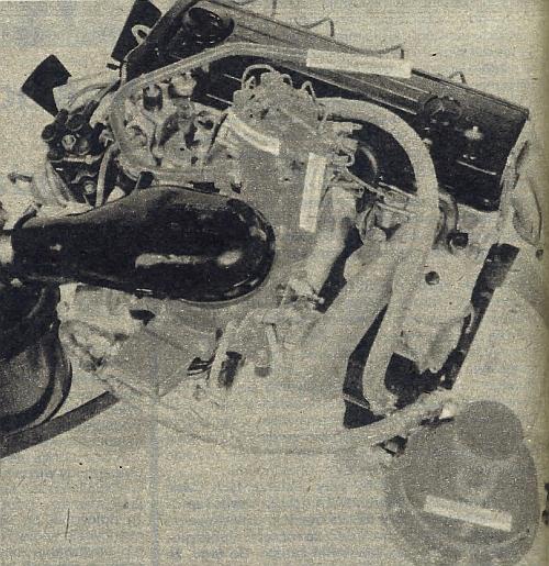 Oto jak wygląda czterocylindrowy silnik o pojemności 2,3 l zasilany wodorem. /Motor