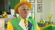 Oto król brazylijskich kibiców