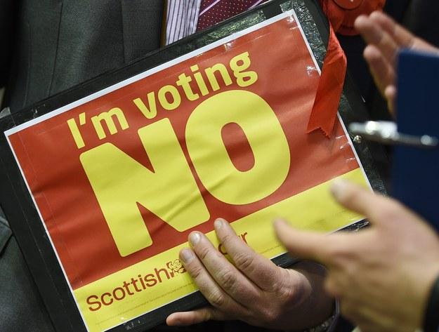 Oto ostateczny wynik referendum w Szkocji
