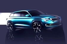 Oto Skoda VisionS. Taki bedzie nowy SUV!