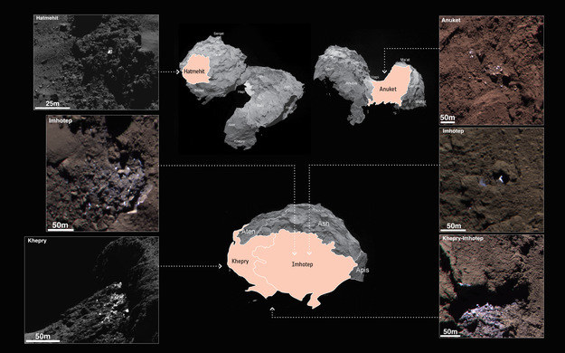 Oto, w jakich rejonach znaleziono ślady lodu /materiały prasowe