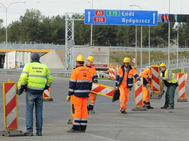 Otwarcie nowego odcinka autostrady A1 /PAP