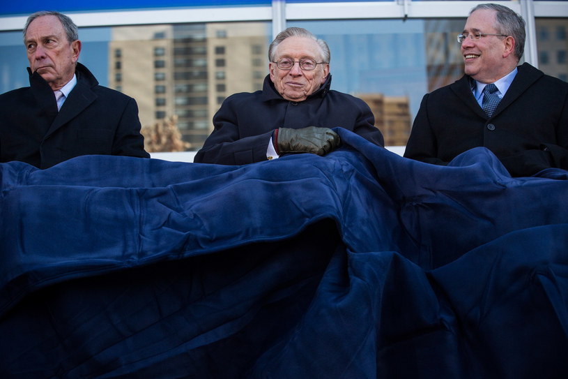 Otwarcie pierwszego nowego gmachu w Strefie Zero. /AFP