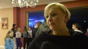 Otylia Jędrzejczak świętowała swoje urodziny na dyskotece z młodymi adeptami pływania (Wideo: mat. Prasowy/III Mikołajkowa Olimpiada Pływacka)
