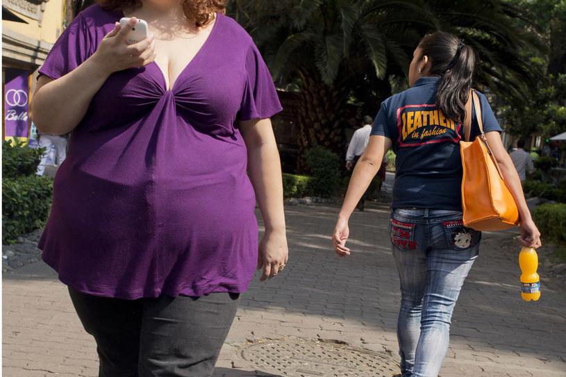 Otyłość jest śmiertelnie niebezpieczna /AFP