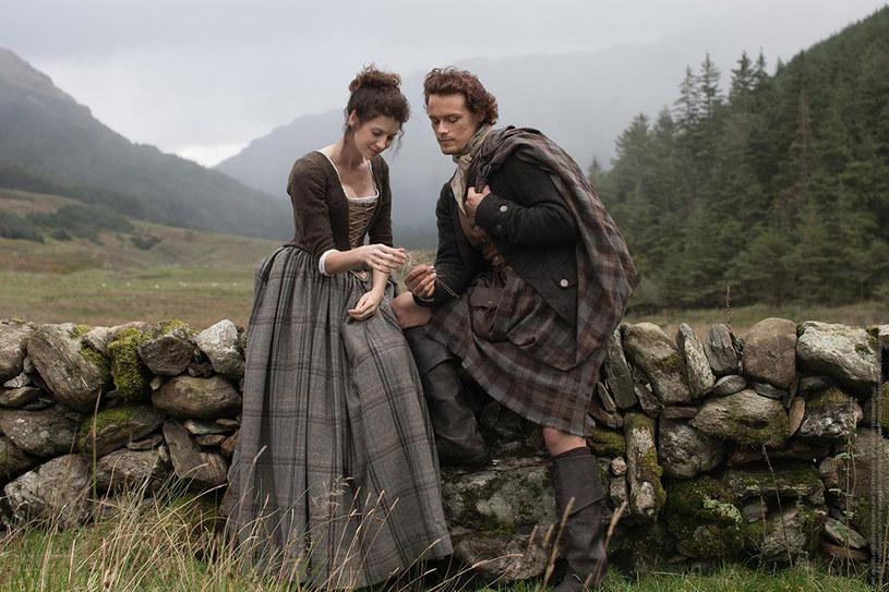 Outlander podbija serca widzów /fot. Facebook /Internet