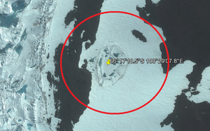 Owalna konstrukcja na Antarktydzie może być śladem działalności człowieka