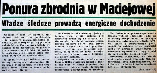 """Ówczesna prasa skutecznie """"zarządzała"""" informacją. /Odkrywca"""