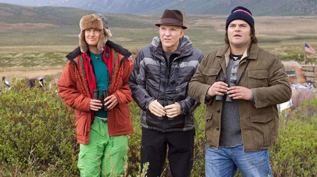 Owen Wilson, Steve Martin i Jack Black w poszukiwaniu Wielkiego Ptaka. /materiały dystrybutora