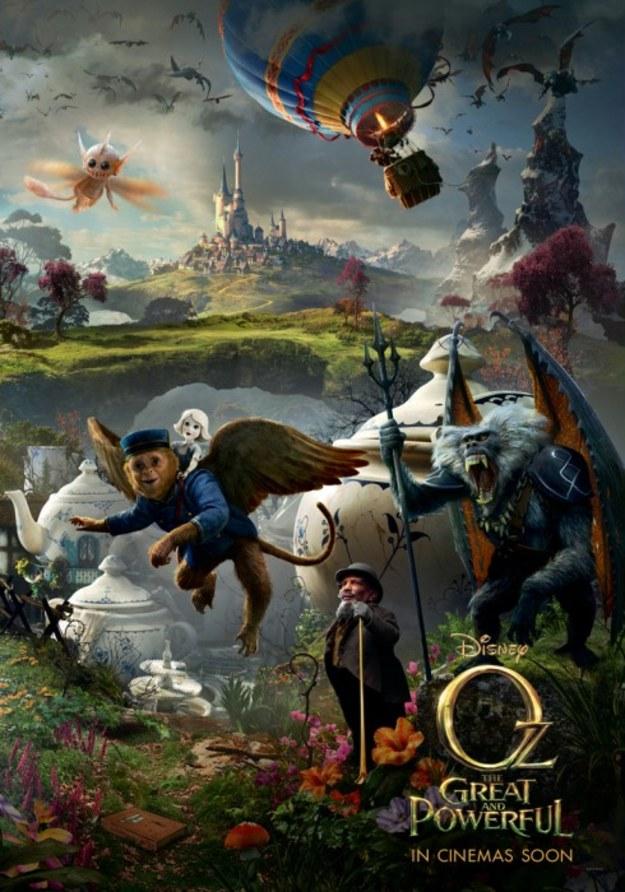 Oz Wielki i Potężny vs. Czarnoksiężnik z Krainy Oz