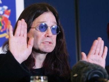 Ozzy Osbourne chciał rozruszać publiczność /AFP