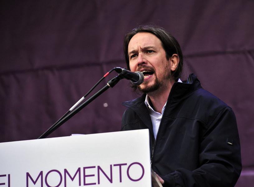 Pablo Iglesias, lider partii Podemos /AFP