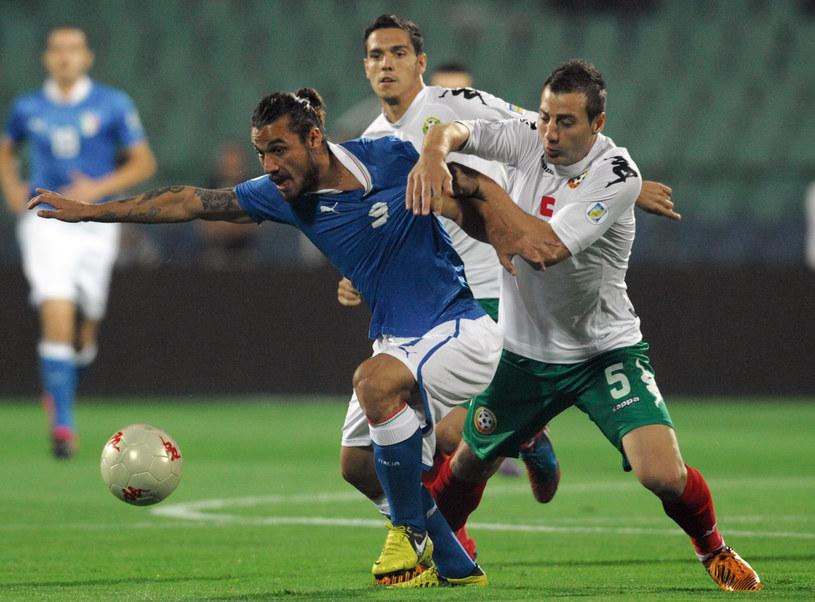 Pablo Osvaldo, piłkarz reprezentacji Włoch /AFP