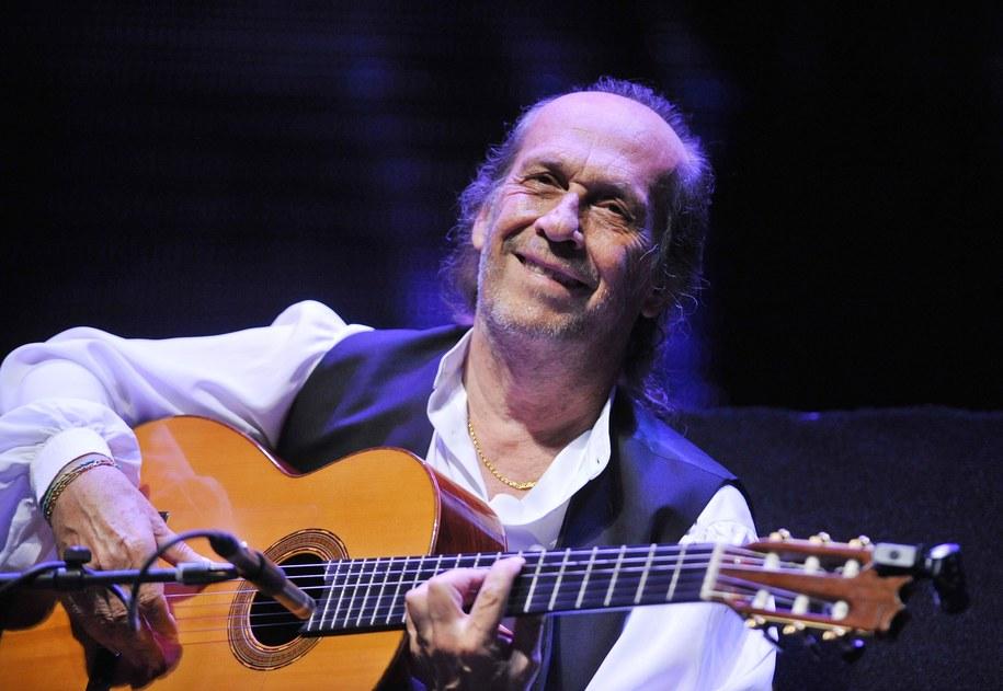 Paco de Lucia był wybitnym gitarzystą /Ludek Perina  /PAP/EPA