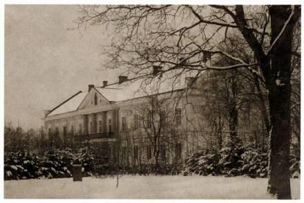 Pałac Administracji, pocztówka z 1911 r. ze zbioru K. Bojarskiego /zamosconline.pl