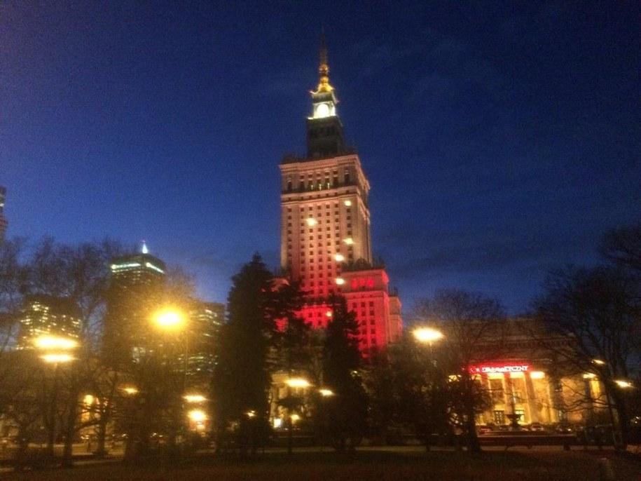 Pałac Kultury i Nauki w Warszawie /Michał Dobrołowicz /RMF FM