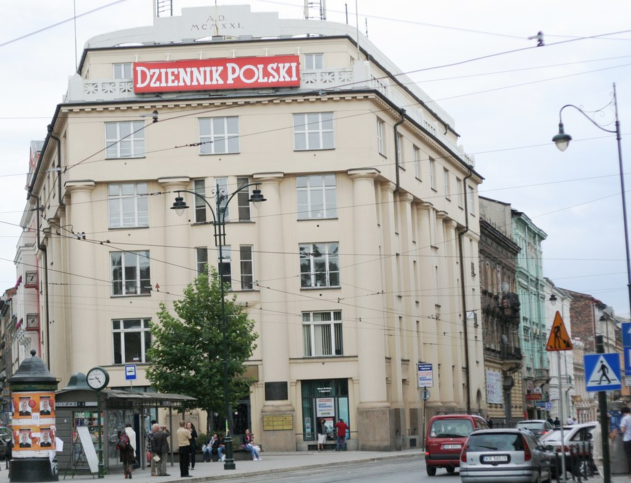 Pałac Prasy na ulicy Wielopole 1 /Maciej Nycz /RMF FM