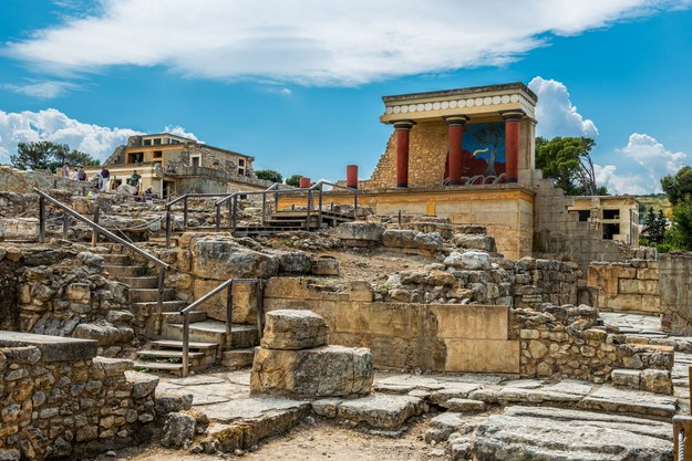 Pałac w Knossos na Krecie /123/RF PICSEL