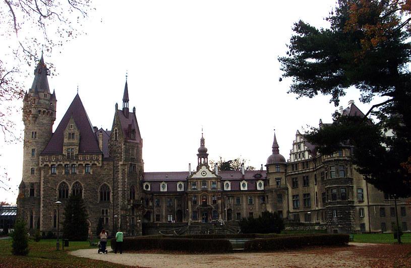 Pałac w Mosznej od strony północnej, stan obecny/Dariusz Pietrucha /Odkrywca