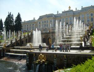 Pałac w Peterhofie, fot. Izabela Grelowska /INTERIA.PL