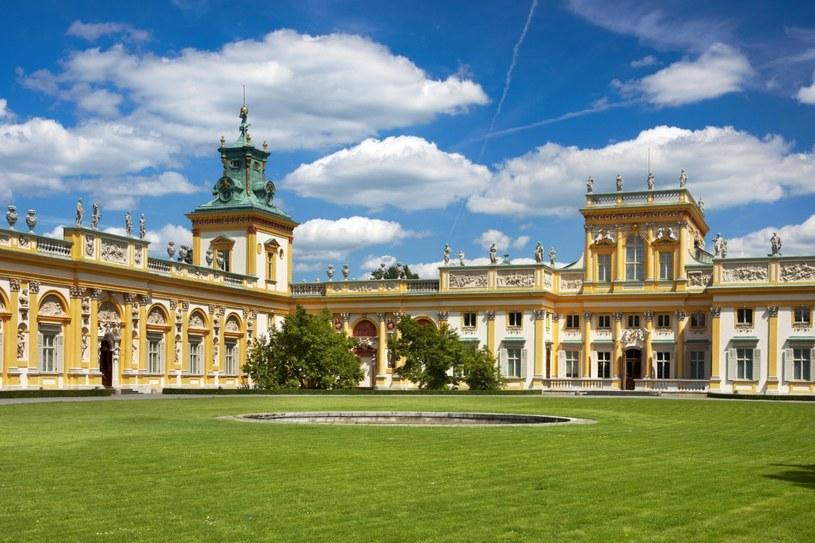 Pałac w Wilanowie /Agencja FORUM