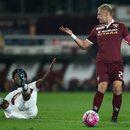Palermo - Torino 1-3 w 25. kolejce Serie A