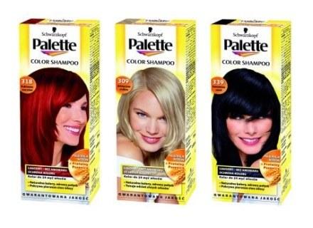 Palette Color Shampoo w nowych opakowaniach /materiały prasowe
