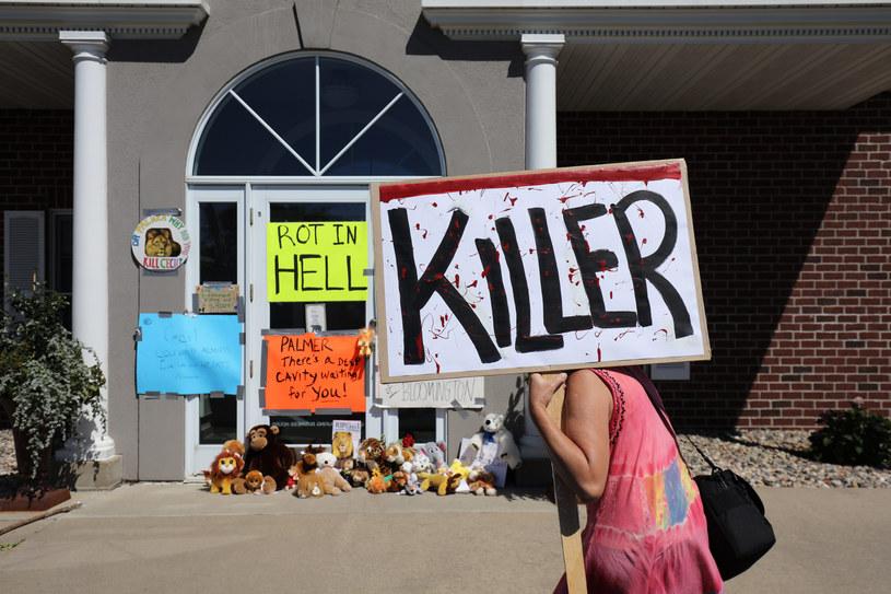 Palmer określany jest mianem mordercy /AFP