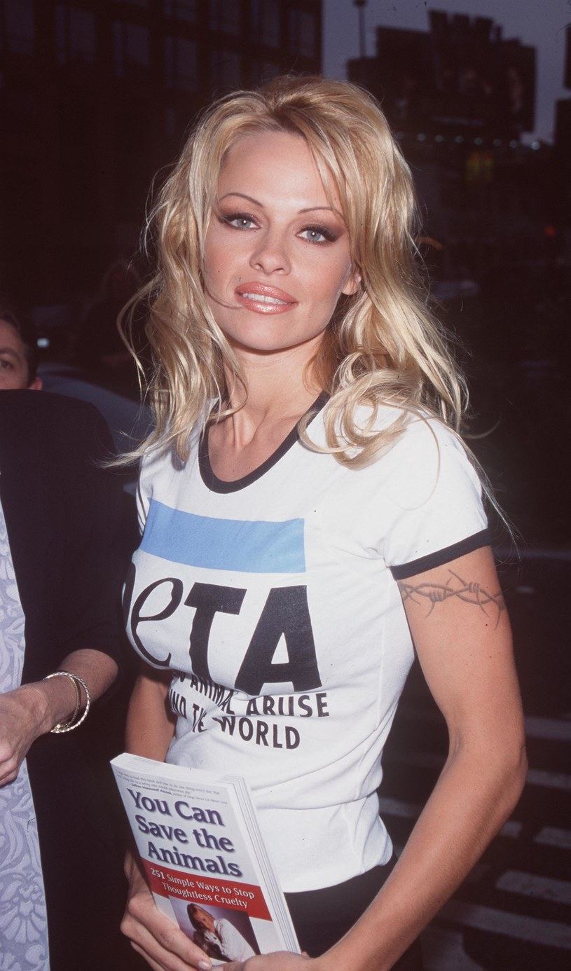 Pamela Anderson, 1999 rok /Brenda Chase /Getty Images