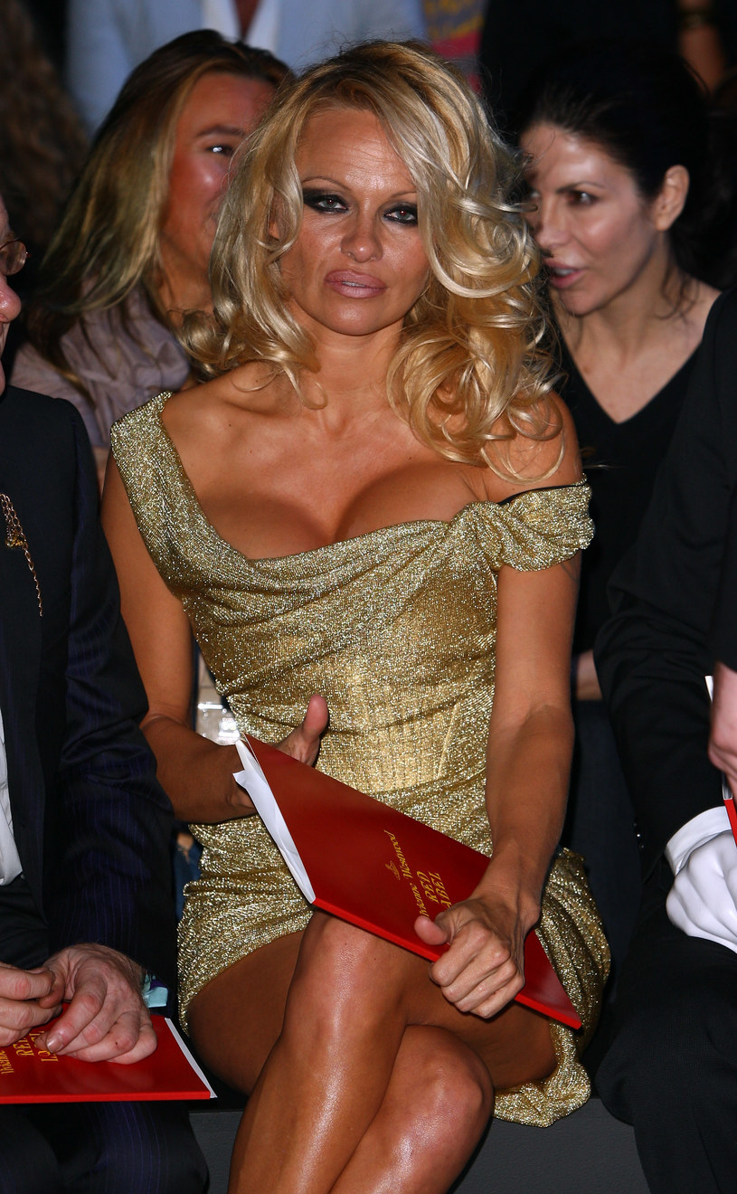 Pamela Anderson, 2009 rok /Gareth Cattermole /Getty Images