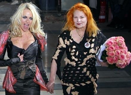 Pamela Anderson i Vivienne Westwood /AFP