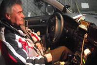 Pan Andrzej z Bydgoszczy, kierowca taksówki z 26-letnim stażem, wykonał chyba najtrudniejszy kurs /RMF