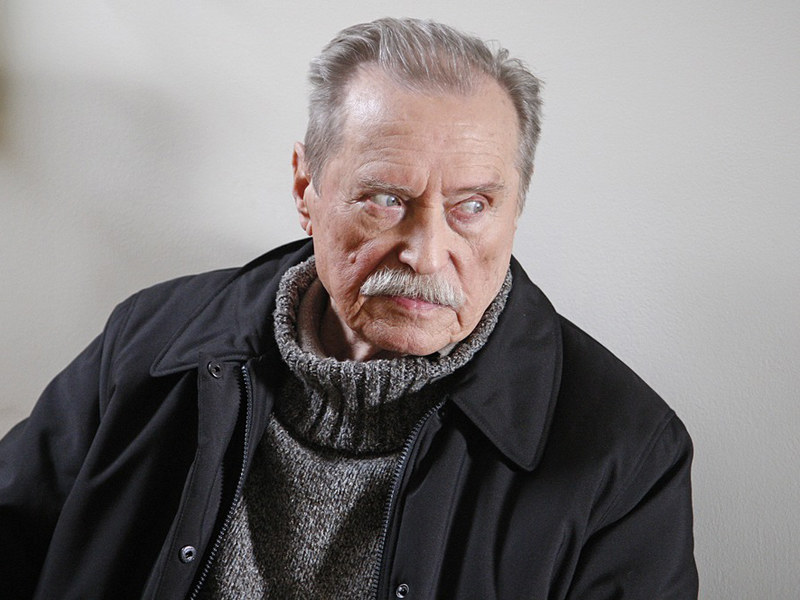 Pan Emil najchętniej opowiada o roli Hermanna Brunnera  /Euzebiusz Niemiec /AKPA