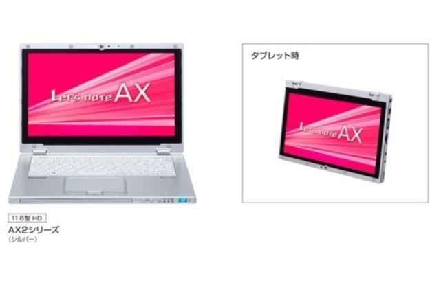 Panasonic Let's Note AX2 /materiały prasowe