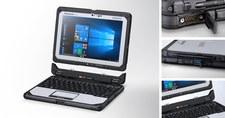 Panasonic Toughbook CF-20 z odłączanym ekranem w nowej wersji