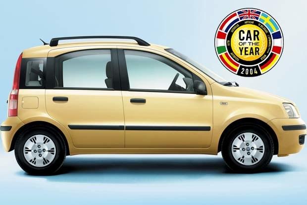 Panda Samochodem Roku 2004! (kliknij) /INTERIA.PL