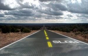 Panele słoneczne zamiast asfaltu?
