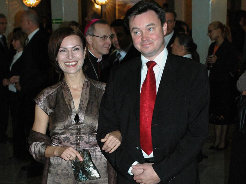 Pani Danuta zrozumiała, że w mężu drzemie ogromna chęć powrotu do aktorstwa  /MWMedia