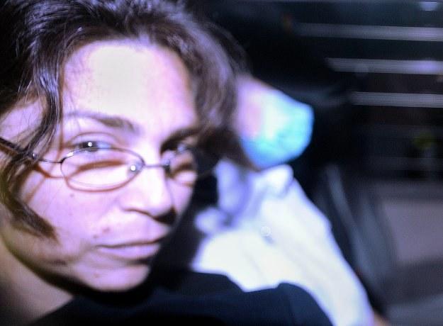 Pani Kissel, która na ostatniej rozprawie pojawiła się na wózku inwalidzkim, pozostaje w areszcie /AFP