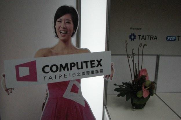 Panna Computex wita - na największych targach komputerowych w Azji /INTERIA.PL