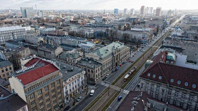 Panorama centrum Łodzi /Łukasz Szeląg /Reporter