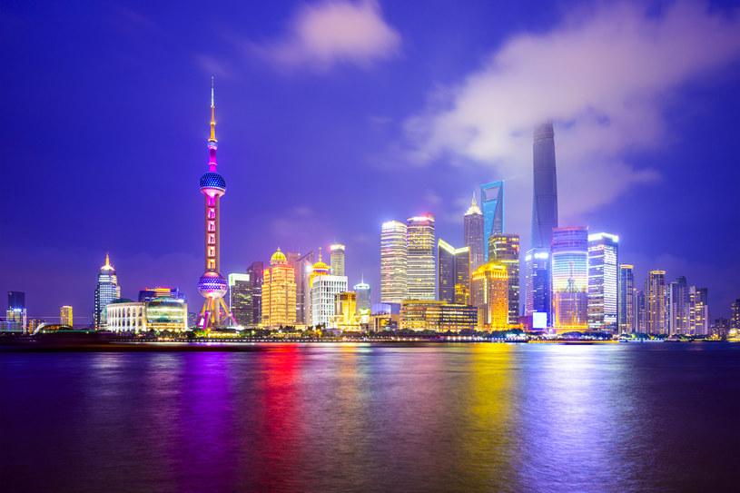 Panorama finansowej dzielnicy Szanghaju /123/RF PICSEL