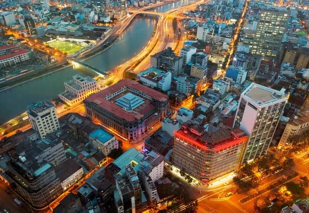 Panorama miasta Saigon /123/RF PICSEL