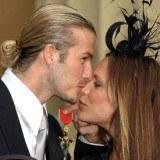Państwo Beckhamowie /AFP