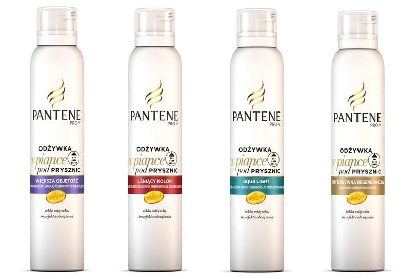 Pantene: Lekkie Odżywki w Piance /materiały prasowe