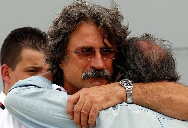 Paolo Simoncelii, ojciec Marco /AFP